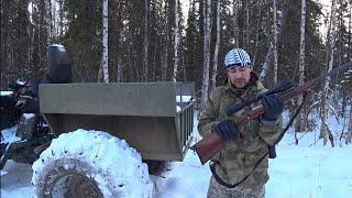 Охота на волка в Сибири видео, волки на свалке