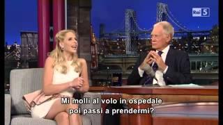 David  Letterman - Sarah Michelle Gellar  01-10-2013 (sub ta)