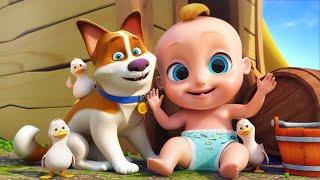 Sons de animais | Aprender sons de animais - Canções Infantis - LooLoo Kids Português