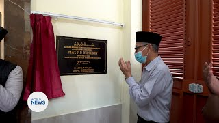 New Mosque Inaugurated in Indonesia
