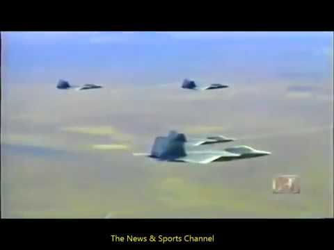 1 F22 vs 5 F15 Real dogfight who will win