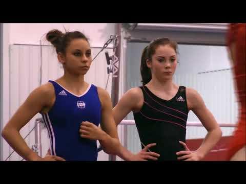 McKayla Maroney on Mattie Larson and Gymnastics (2011)