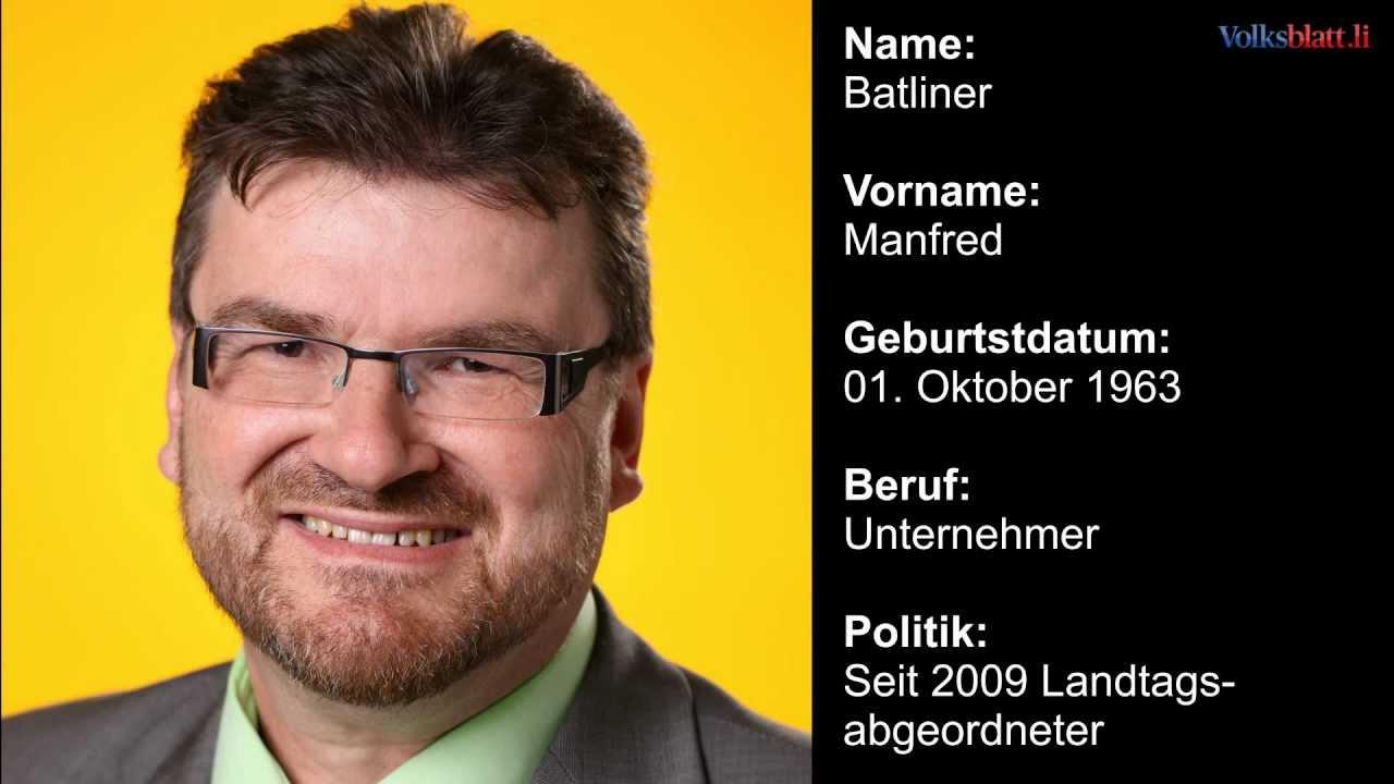 FBP Kandidaten in Nendeln nominiert - Liechtenstein