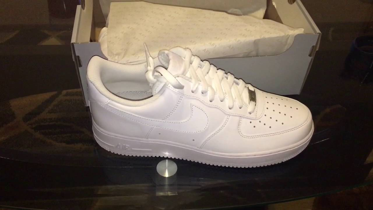 Quick pickup Nike Air Force 1 all whites | Music Jinni