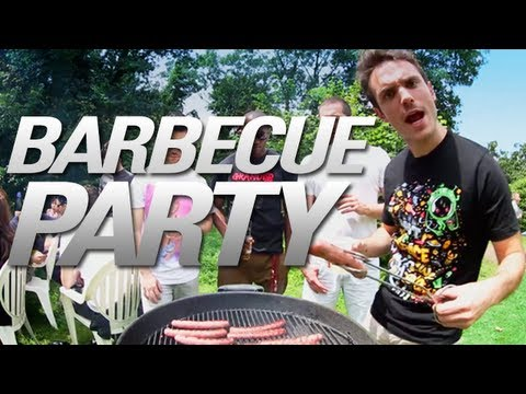 jerome barbecue party clip youtube. Black Bedroom Furniture Sets. Home Design Ideas