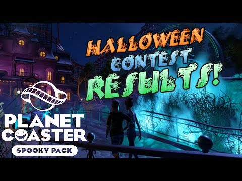 Halloween Contest Results! Winners, Prizes & Promotions! #PlanetCoaster