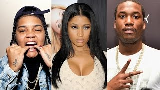 Video Young MA says Nicki Minaj and Meek Mill Ruined OOOUUU #NickiBBMAs download MP3, 3GP, MP4, WEBM, AVI, FLV Februari 2018