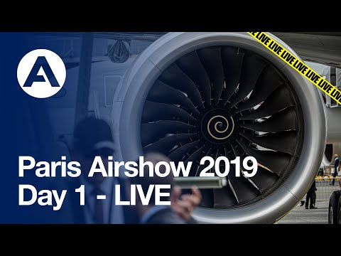 Paris Airshow 2019: Day 1 - LIVE