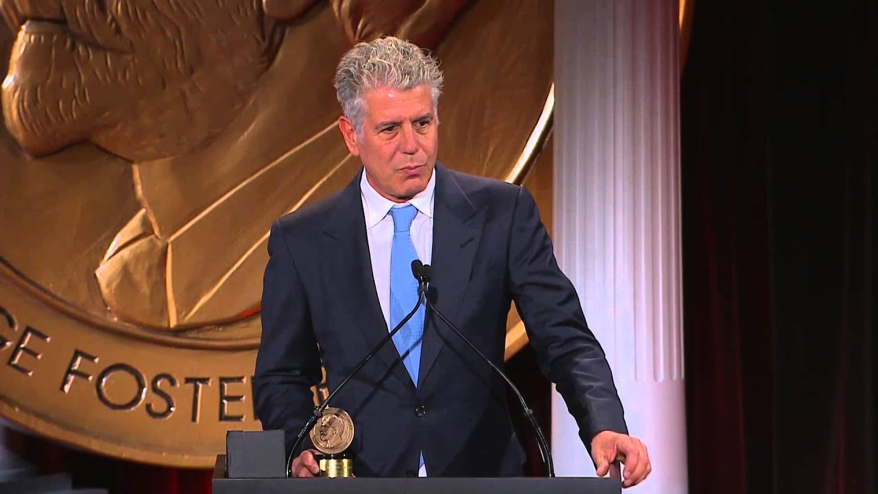 Image result for anthony bourdain peabody award
