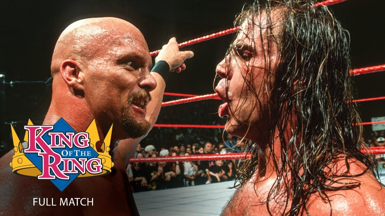 """Download FULL MATCH - """"Stone Cold"""" Steve Austin vs. Shawn Michaels: King of the Ring 1997"""