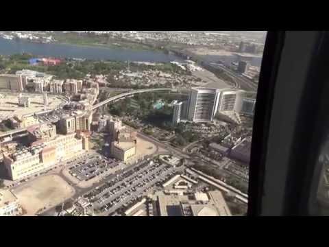 Dubai Helicopterflug 14.12 . 2014 Atlantis, The Palm Helipad