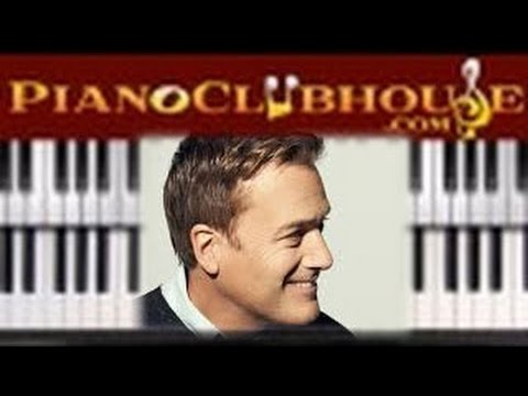🎹   ALL IS WELL - Michael W. Smith (easy piano lesson tutorial)