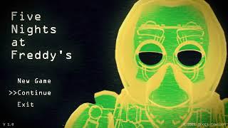 Radioactive FNAF Animation Main Menu