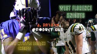 H.S. 🏈 Movie: North Myrtle Beach vs West Florence! Epic Battle