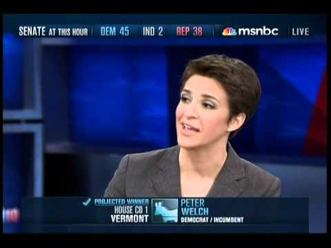 MSNBC 2010 Election Night Coverage Part 17