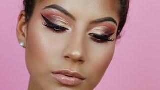 Jewel Toned Glitter Cut Crease | AMANDARRWALKER