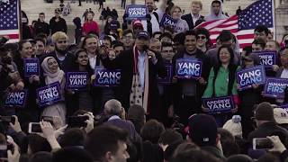 Andrew Yang's Humanity First Tour Rally in Washington D.C. - 4.15.19 Full Video
