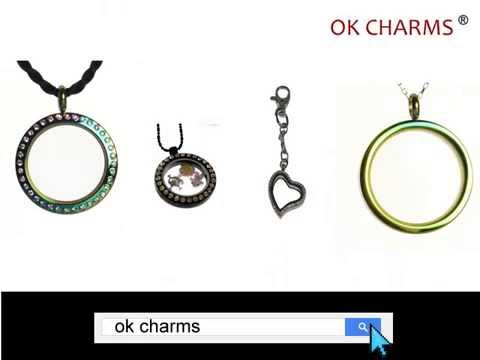 Clear glass locket necklaces with charms inside wholesale market clear glass locket necklaces with charms inside wholesale market youtube aloadofball Image collections