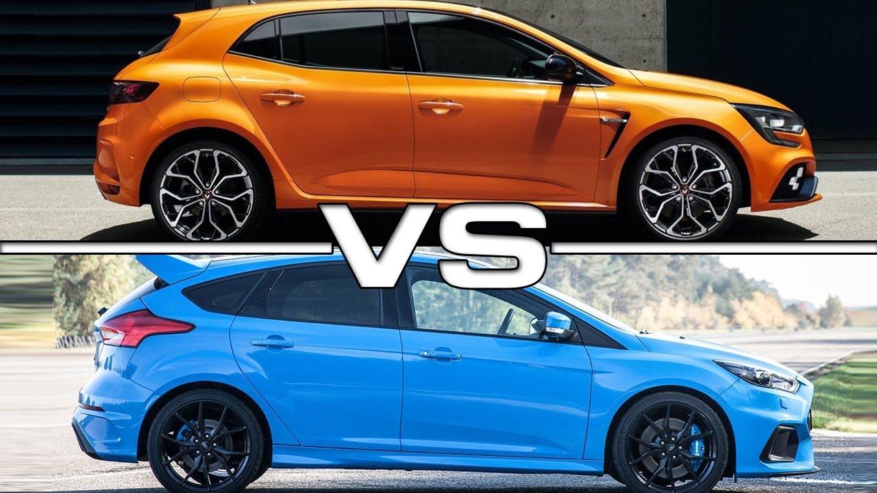2018 Renault Megane RS vs 2017 Ford Focus RS