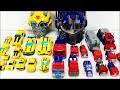 Transformers Toys - Transformers Bumblebee and Optimus Prime Robot to Vehicle Collection
