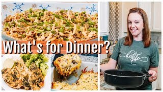 WHAT'S FOR DINNER ? | EASY DINNER IDEAS | SIMPLE MEALS