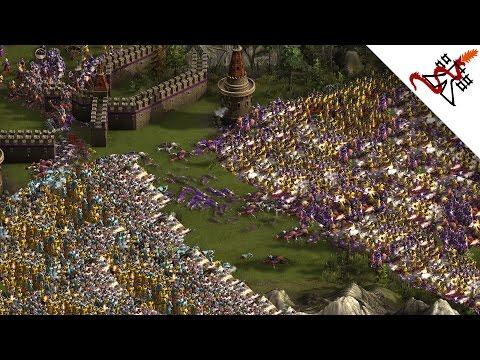 Cossacks 3 - 1v2v2v3 INSANELY HUGE BATTLES