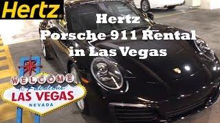 Hertz Porsche 911 Rental in Las Vegas