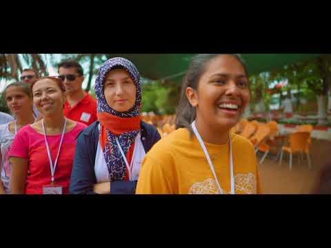 2018 Kızılay Uluslararası Gençlik Kampı