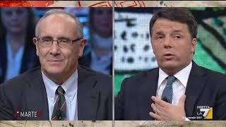 Matteo Renzi vs Massimo Franco: 'Un giornalista che dice cose false deve vergognarsi'