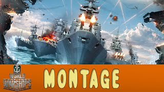BEST MOMENTS - MONTAGE - World of Warships   Zander