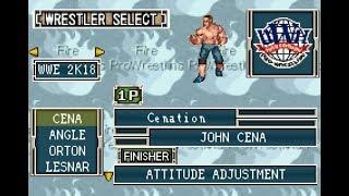 【GBA】ファイプロ Fire Pro Wrestling 2 / WWE 2K18 CAWS
