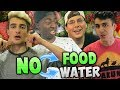 NO FOOD OR WATER CHALLENGE!! - FASTING WITH THE TK HOUSE (PART 1)