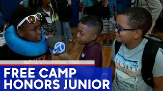 Free 'Camp Junior' opens in honor of murdered Bronx teen