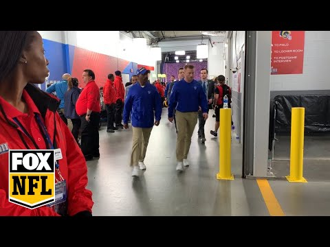 Dana McKenzie - Watch the Rams leave the field after their heartbreaking SB LIII loss