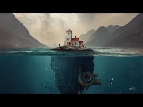 House Island Underwater Photo Manipulation Photoshop Tutorial thumbnail