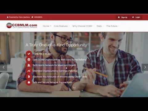 Заработок и 50$ бонус от Банка криптовалюты CCBMLM за бесплатную регистрацию