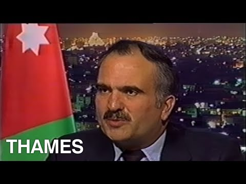 Gulf War Saddam Hussein Scud Attack On Israel Tel Aviv | Prince Hassan Bin Talal | This Week | 1991