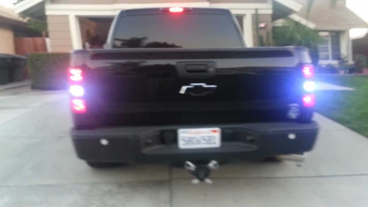 My 08 Chevy Silverado all blacked out - YouTube