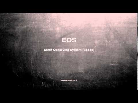 What does EOS mean