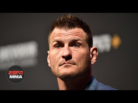 Stipe Miocic updates condition of eye, describes life as a firefighter | ESPN MMA