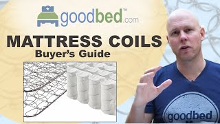 Coils are at the heart of an innerspring mattress. In this video, GoodBed explains the differences between types of coils and springs, and how they affect the ...
