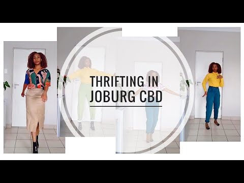 Thrifting in Johannesburg CBD || Haul