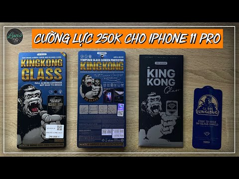 Kính cường lực - Đi dán KÍNH CƯỜNG LỰC KING KONG 250k ở Cellphones cho iPhone 11 Pro mà VUỐT cực MƯỢT | Lucis TV