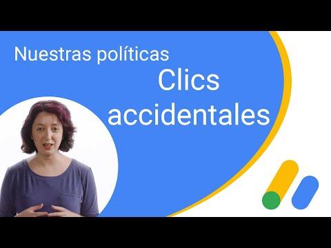 Nuestras políticas: clics accidentales