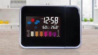 Обзор на Часы с проектором с Aliexpress