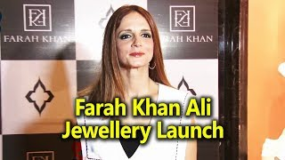Sussanne Khan At Farah Khan Ali Jewellery Launch