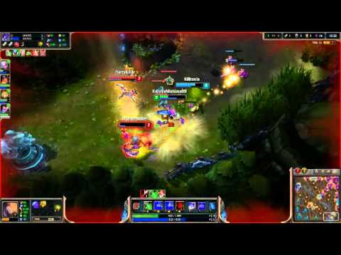 League of Legends gameplay Surfer Singed