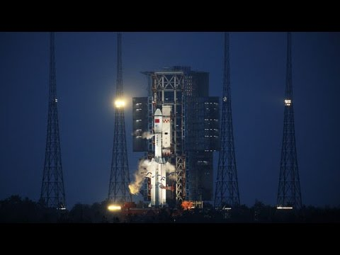 Highlights of China's first cargo spaceship Tianzhou-1's launch mission