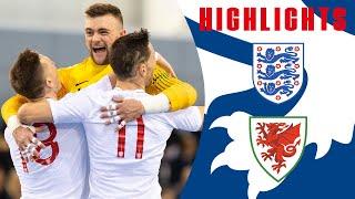 England Futsal Win Home Nations Championship! | England 4-0 Wales | Highlights | Futsal Lions