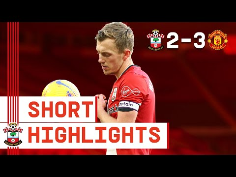 90-SECOND HIGHLIGHTS: Southampton 2-3 Manchester United | Premier League